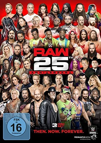 WWE - Raw 25th Anniversary: Then.Now.Forever (3 DVDs)