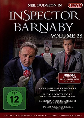 Inspector Barnaby, Vol.28 (4 DVDs)