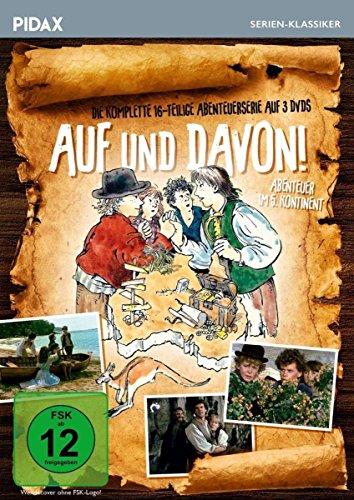 Auf und davon Abenteuer im fünften Kontinent (3 DVDs)