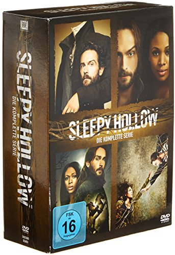 Sleepy Hollow Die komplette Serie (18 DVDs)