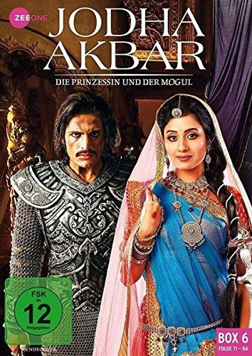 Jodha Akbar Die Prinzessin und der Mogul - Box  6 (Folge 71-84) (3 DVDs)