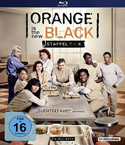 Orange is the New Black Staffel 1-4 [Blu-ray]