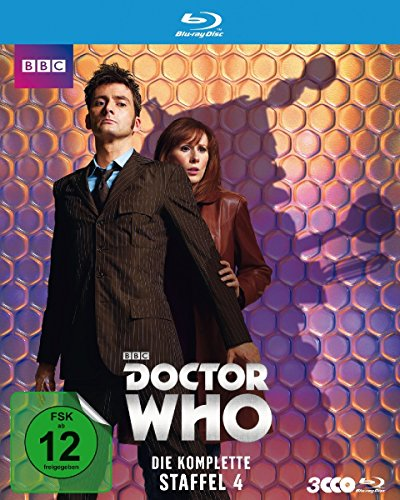 Doctor Who Staffel  4 [Blu-ray]