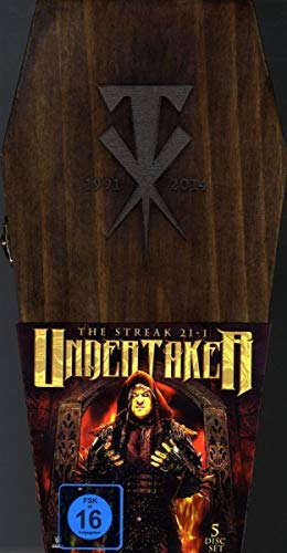 WWE The Undertaker (Coffin Box Set) (5 DVDs)