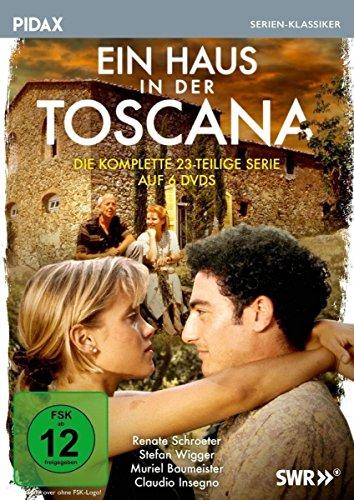 Ein Haus in der Toscana 6 DVDs