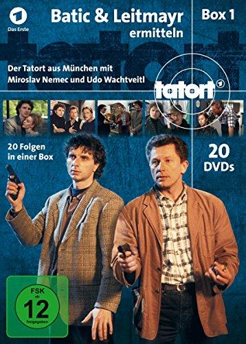 Tatort Batic & Leitmayr ermitteln (Fall  1-20) (20 DVDs)