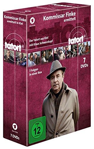 Tatort Kommissar Finke ermittelt (Komplettbox) (7 DVDs)