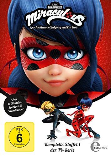 Miraculous - Geschichten von Ladybug und Cat Noir: Staffel 1 (3 DVDs)