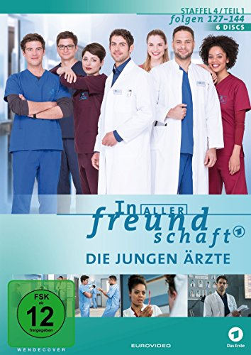 In aller Freundschaft - Die jungen Ärzte: Staffel 4.1 (6 DVDs)