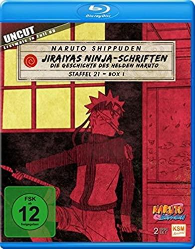 Naruto Shippuden Staffel 21, Box 1: Jiraiyas Ninja-Schriften [Blu-ray]
