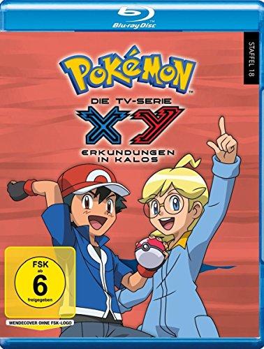 Pokémon Staffel 18: XY - Erkundungen in Kalos [Blu-ray]