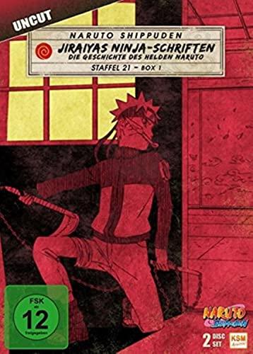 Naruto Shippuden Staffel 21, Box 1: Jiraiyas Ninja-Schriften (2 DVDs)