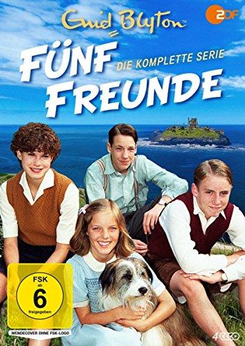 Enid Blyton: Fünf Freunde Die komplette Serie (4 DVDs)