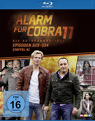 Alarm für Cobra 11 Staffel 41 [Blu-ray]