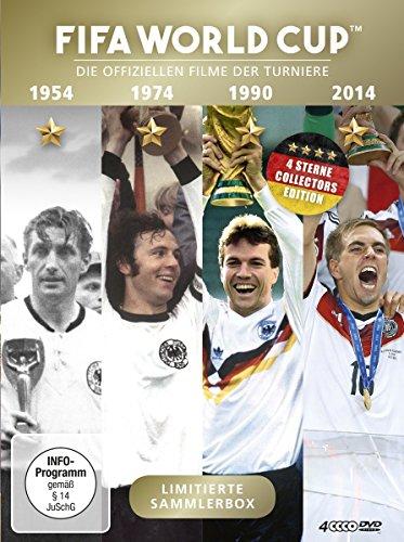 FIFA World Cup 1954 + 1974 + 1990 + 2014 - Die offiziellen Filme der Turniere (4 DVDs)