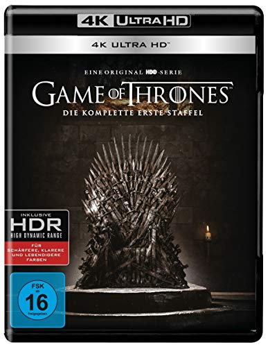 Game of Thrones Staffel 1 [4 Blu-rays 4K Ultra HD]