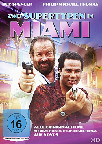 Zwei Supertypen in Miami Alle 6 Originalfilme (3 DVDs)
