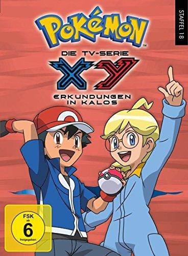 Pokémon Staffel 18: XY - Erkundungen in Kalos (6 DVDs)