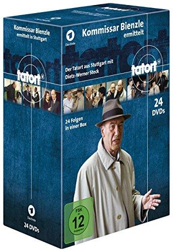 Tatort Kommissar Bienzle ermittelt (24 Fälle) (24 DVDs)