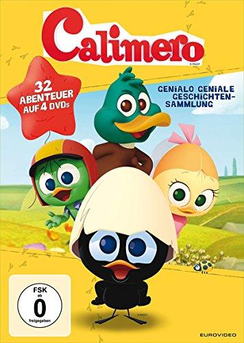 Calimeros Genialo geniale Geschichtensammlung (4 DVDs)