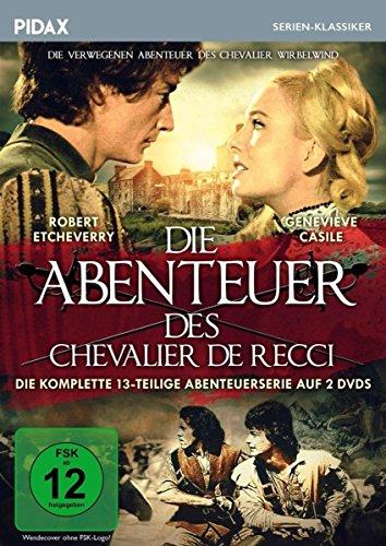 Die Abenteuer des Chevalier de Recci (Chevalier Wirbelwind) (2 DVDs) Chevalier Wirbelwind (2 DVDs)