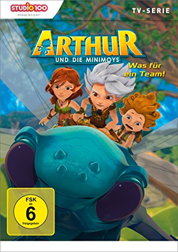 Arthur und die Minimoys DVD 2: Was für ein Team!
