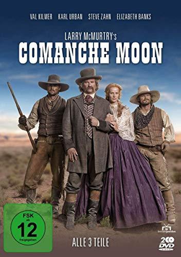 Larry McMurtry's Comanche Moon Alle 3 Teile (2 DVDs)