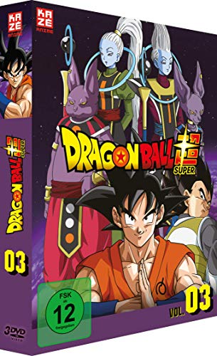 Dragonball Super 3. Arc: Universum 6 (Episoden 28-46) (3 DVDs)