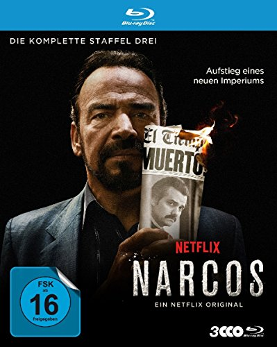 Narcos Staffel 3 [Blu-ray]