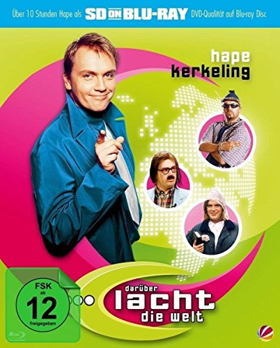 Hape Kerkeling - Darüber lacht die Welt [SD on Blu-ray]
