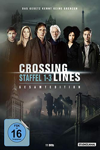 Crossing Lines Gesamtedition (Staffel 1-3) (11 DVDs)
