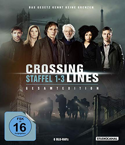 Crossing Lines Gesamtedition (Staffel 1-3) [Blu-ray]