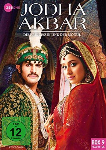 Jodha Akbar Die Prinzessin und der Mogul - Box  9 (Folge 113-126) (3 DVDs)