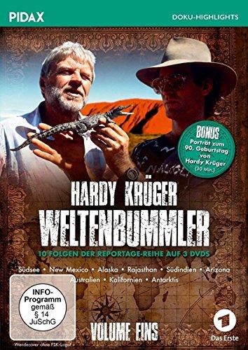 Hardy Krüger - Weltenbummler, Vol. 1 (3 DVDs)