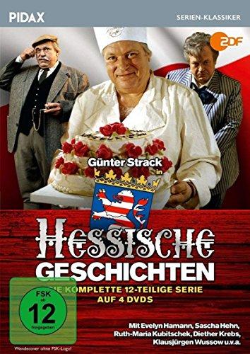 Hessische Geschichten 4 DVDs