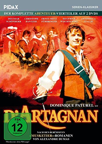 D'Artagnan Der komplette Abenteuer-Vierteiler (2 DVDs)