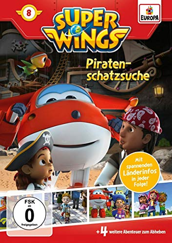 Super Wings, DVD  8: Piratenschatzsuche