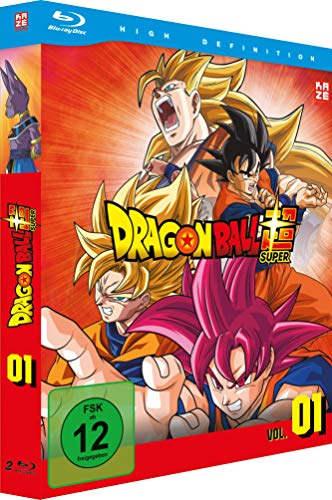 Dragonball Super 1. Arc: Kampf der Götter (Episoden 1-17) [Blu-ray]