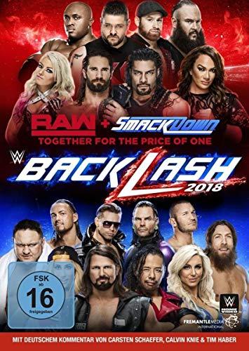 WWE Backlash 2018 (2 DVDs)