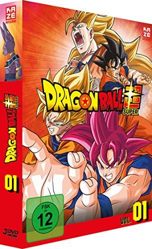 Dragonball Super 1. Arc: Kampf der Götter (Episoden 1-17) (3 DVDs)