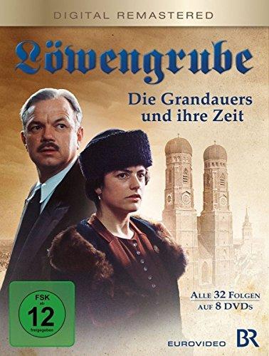 Löwengrube, Die Grandauers und ihre Zeit - Die komplette Serie (Digital remastered) (8 DVDs)