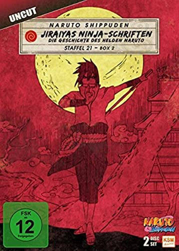 Naruto Shippuden Staffel 21, Box 2: Jiraiyas Ninja-Schriften (2 DVDs)