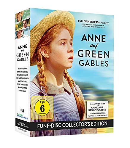 Anne auf Green Gables (Collector's Box) (5 DVDs) Collector's Box (5 DVDs)