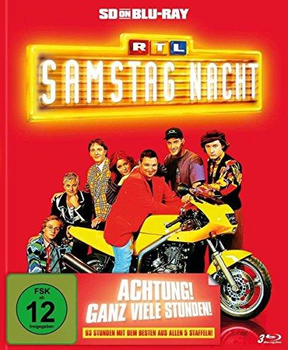 RTL Samstag Nacht Achtung! Ganz viele Stunden! [SD on Blu-ray]