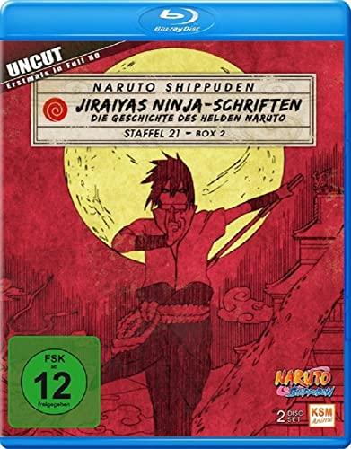 Naruto Shippuden Staffel 21, Box 2: Jiraiyas Ninja-Schriften [Blu-ray]