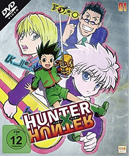 Hunter x Hunter Vol. 1 (Episode 1-13) (2 DVDs)