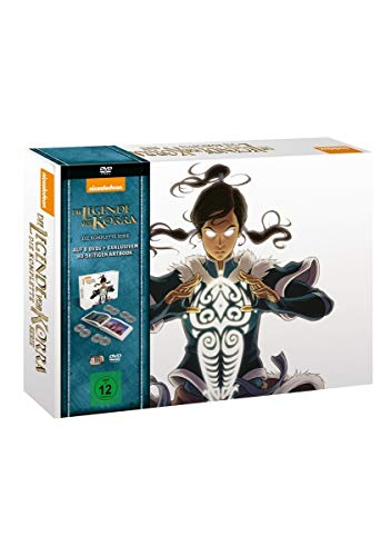 Die Legende von Korra Komplettbox (Special Limited Edition) (8 DVDs)