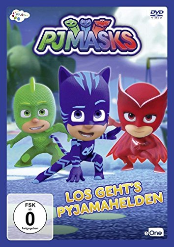 PJ Masks - Pyjamahelden: Los geht's Pyjamahelden