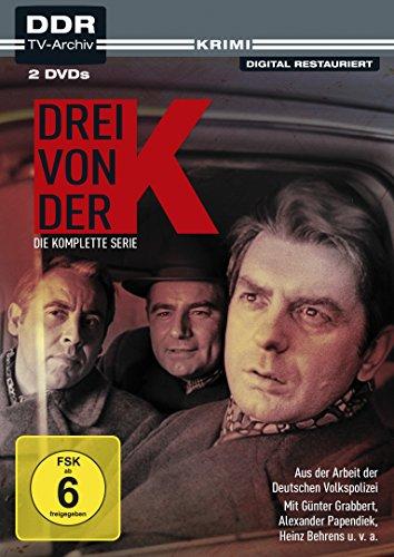 Drei von der K Aus der Arbeit der Deutschen Volkspolizei (DDR TV-Archiv) (2 DVDs)