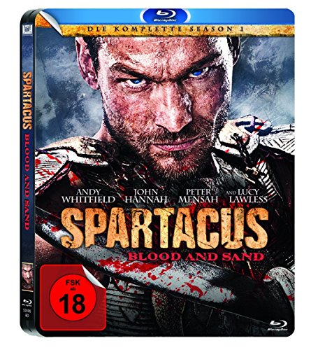 Spartacus: Blood and Sand - Staffel 1 (Limited Edition Steelbook) [Blu-ray]